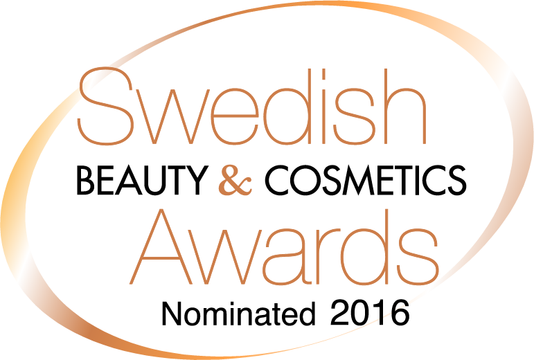 Swedish Beauty & Cosmetics Awards Nominated 2016